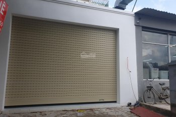 Cho thuê nhà 1 trệt + gác lửng khu An Phú An Khánh, 100m2, có máy lạnh, cửa cuốn, giá 15 triệu/th
