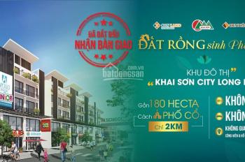 Sở hữu những lô shophouse đẹp nhất Khai Sơn chỉ từ 3tỷ, lợi nhuận 100%/2 năm. LH: 0901508866