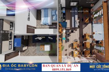 Chủ đầu tư bán căn hộ tầng 1 - sổ hồng - LH: 0987 625 638