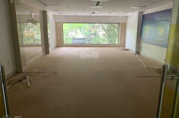 Cho thuê nhà mới đẹp mặt Phố Tôn Thất Huyết, thông sàn thang máy. DT 120m x 5,5 t + 1 hầm, Giá 80tr