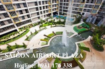 Bán căn hộ Sài Gòn airport Plaza 3PN, 125m2, 5.1, 5.5 tỷ, sổ hồng vĩnh viễn. LH 0931.176.338