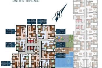 Căn hộ đường gần Phạm Văn Đồng rẻ hơn căn hộ khác 500 tr xây tới lầu 30 sắp giao nhà