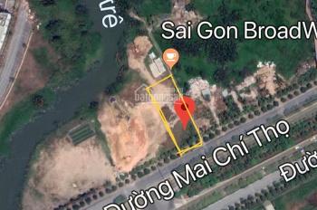 Bán 2000m2 mặt tiền Mai Chí Thọ, p.Bình Khánh, q2 - Sát New City - Thích hợp xây chung cư cao tầng