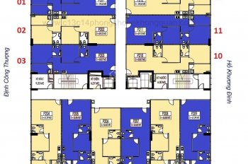 Chính chủ cần bán cắt lỗ CC C14 Bùi Xương Trạch, căn 1206, DT 63m2, giá 18tr/m2. LH 093I905666