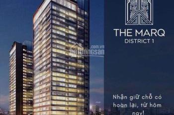 The Marq Q1 - Chỉ còn vài căn cuối view về trung tâm Bitexco - sông Sài Gòn. LH PKD CĐT 0901840059