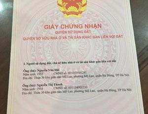 Bán lô biệt thự BT7 Văn Phú, Hà Đông DT: 250m2 x 3 tầng, MT 12m giá 13,5 tỷ