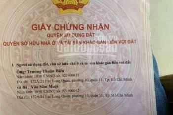 Bán nhà mặt tiền đường Vĩnh Lộc 20x55m, SHR, 23.5 tỷ