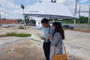 Bán lô đất mặt tiền Trần Văn Chẩm Củ Chi, giá 17 - 19tr/m2 đã có SHR, 0918693679