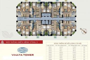 10 suất ngoại giao giá 28tr/m2 CC Vinata Tower, quận Cầu Giấy và hàng chuyển nhượng cắt lỗ 300tr