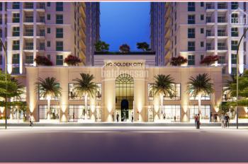 Chung cư cao cấp HC Golden City, giá chỉ từ 2,5 tỷ - mở bán shop chân đế kinh doanh siêu lợi nhuận