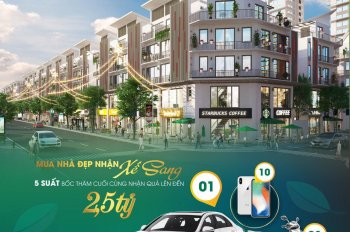 Shophouse Khai Sơn Long Biên chỉ 2,7 tỷ nhận nhà CK lợi nhuận 150%, tặng xe 1,5 tỷ, LS 0% trong 24T