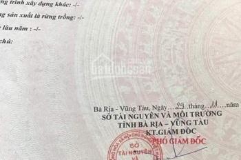 Chính chủ bán đất mặt tiền P Long Tâm, TP Bà Rịa - Vũng Tàu diện tích 138,9m2 có thổ cư giá 1xxx