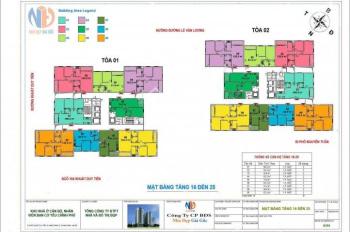 (A Minh 0962 899 842) bán gấp suất phân CC Ban cơ yếu Chính phủ, DT 82,22m2 căn 903, giá 24 tr/m2