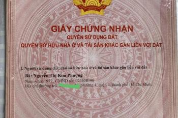 Bán đất mặt tiền Nguyễn Đình Kiên, Tân nhật, Bình Chánh. Khu dân cư, kinh doanh buôn bán sầm uất