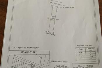Bán đất chính chủ ngay chợ P.6,TT TP.Tân An, DT 5mx32m, giá chỉ 900tr, LH CC 0919 207 357