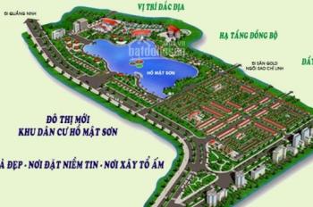 Chính chủ cần bán 1 lô đấu giá C1, DT 75m2, đẹp nhất KDC Hồ Mật Sơn