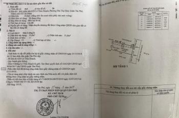 Bán đất HXH 6/20 Lê Thúc Hoạch, P Phú Thọ Hòa, Q Tân Phú, TP. HCM