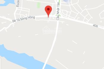 1,2 tỷ đất Vĩnh Ngọc cách Cầu Nhật Tân 200m, tổng diện tích 51,1m2 LH: 0823330001