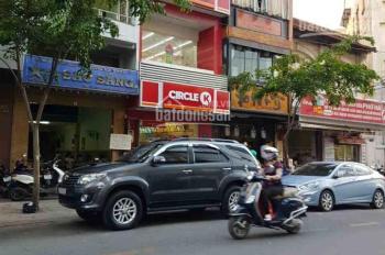 Bán nhà mặt tiền Thành Thái - 3 Tháng 2, Quận 10. DT: 9x28m, xây dựng: Hầm, 8 lầu. Gía: 65 tỷ TL