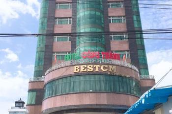 Bán nhà mặt phố Nguyễn Thị Thập, Quận 7 DT 12,3 x 51m nhà xây 1 hầm 10 lầu