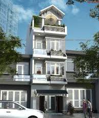 Cho thuê nhà phố gần sân bay Q. Tân Bình: 7,5x32m, 3 lầu, 9PN, có thang máy và nội thất, 90 tr/th