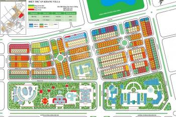 Cần bán suất ngoại giao đất lô góc BT An Khang Villa khu đô thị Dương Nội giá thấp nhất. 0985929291