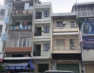 Bán gấp nhà mặt tiền Nguyễn Chí Thanh, Q.5, DT:5x20, KC 4 lầu, HĐ thuê 65 triệu, giá 24.5 tỷ