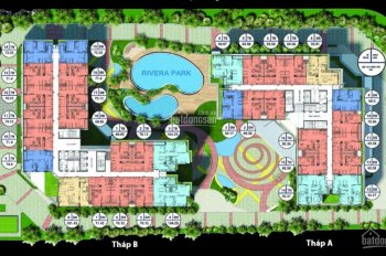 Bảng hàng ngoại giao cập nhật 09 căn đẹp giá tốt nhất dự án Rivera Park. LH: 0961 396 691