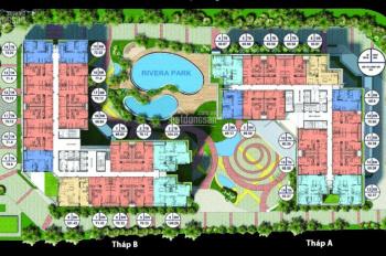 Bảng hàng ngoại giao, cập nhật 09 căn đẹp giá tốt nhất dự án Rivera Park. LH: 0961 396 691
