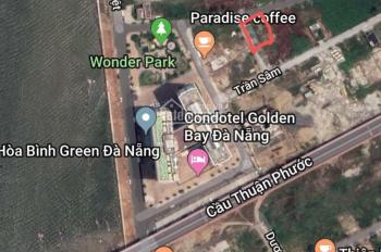 Cho thuê lô đất 2 MT Nguyễn Hữu An, Sơn Trà diện tích 489,5m2 giá 45 tr/tháng