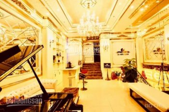 Bán toà nhà karaoke, nhà hàng mặt phố Cát Linh, Đống Đa, 148m2 x 9T, MT 9m, giá 42 tỷ, 0988169868