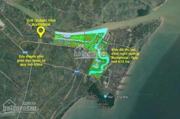Cần bán đất nền dự án Quảng Tâm, Đại Lộ Nam Sông Mã giá rẻ nhất thị trường Thanh Hóa. LH 0974858886