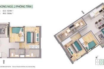 Chuyển nhượng căn hộ Citi Alto - Quận 2 căn hộ 2PN - 2 toilet - DT 52m2, 1.7 tỷ, LH: 0941475552