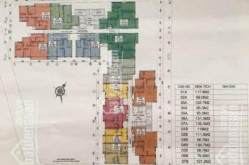 Bán suất ngoại giao chung cư E2 Yên Hòa chọn căn theo ý khách, giá bán 40 triệu/m2. LH 0982.339.666