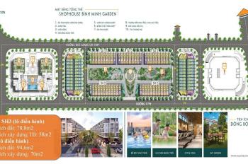 Mở bán 101 lô shophouse 93 Đức Giang, xây 5 tầng, 2 MT, hỗ trợ vay 0% 18 tháng. LH: 0989684754