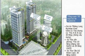 Bán cắt lỗ chung cư Thăng Long Number One, đầy đủ nội thất, giá bán 30 tr/m2