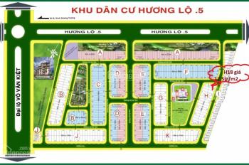 Bán gấp đất MT Hồ Ngọc Lãm, P. An Lạc, Bình Tân, sổ đỏ TC 100% xây tự do, 16tr/m2. LH 0796964852