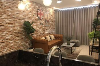 Cho thuê căn hộ full nội thất cao cấp 2 phòng ngủ, 2 WC, 75m2 tại River Gate Bến Vân Đồn, Quận 4