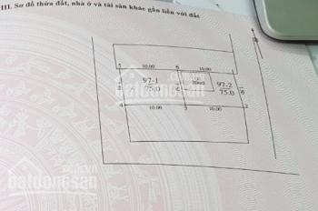 Bán đất 75m2 Ngọc Thụy, Long Biên