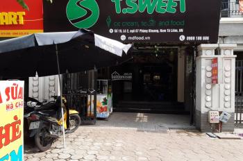 Cho thuê mặt bằng tầng 1 làm bán thuốc tây, nail hoặc spa tại khu nhà LK Nam Thắng, Phùng Khoang