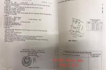 Bán đất phân lô đường Lê Thúc Hoạch, Q Tân Phú - 2.5 tỷ