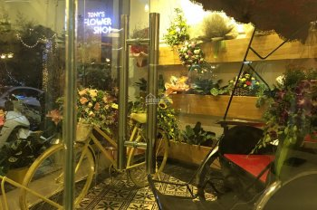 Sang nhượng quán cà phê 4 tầng mặt phố Nguyễn Đình Thi, Thụy Khuê, Tây Hồ