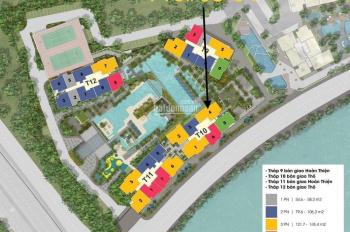 Bán căn hộ The Infinity 01PN 54,79m2 ngay tầng sân vườn, giao hoàn thiện giá gốc CĐT