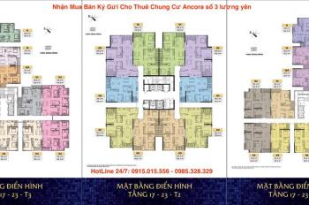 Tháng 4 bên em bán một số căn 2, 3, 4 phòng ngủ đẹp, giá hấp dẫn tại chung cư Sun Group Lương Yên