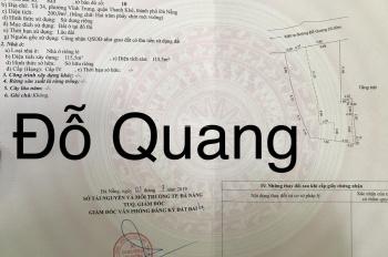 Nhà đất kiệt đường Đỗ Quang, phường Vĩnh Trung, Quận Thanh Khê, giá 9,2 tỷ, 200.9m2