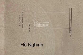Bán lô đất 300m2 mặt tiền Hồ Nginh, vị trí đắt địa thuận tiện việc xây khách sạn hoặc nhà hàng