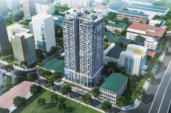 Cho thuê mặt bằng thương mại tại tầng 1 chân đế tòa nhà hỗn hợp VP phố Duy Tân. LH 0989458613