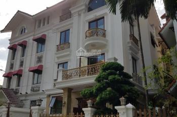 Cho thuê nhà liền kề Trung Kính, Trung Hòa, Cầu Giấy. DT 85m2 x 4 tầng, mặt tiền 10m, giá 28tr/th