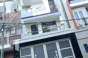Cho thuê nhà mới hẻm 8m 253/2 Bình Lợi, P13, Bình Thạnh: 4x20m: 3 lầu 7PN 20tr/th