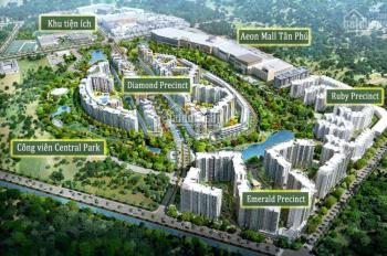 Chính chủ cần bán căn hộ cao cấp 3PN Celadon Tân Phú, căn góc lầu 2 tòa Emerald. Bán nhanh 4.3tỷ